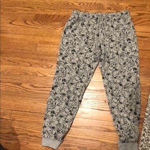 Pants - Snoopy sweatpants